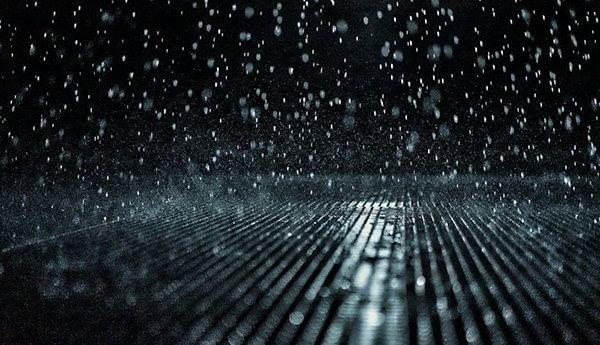 Rain, field